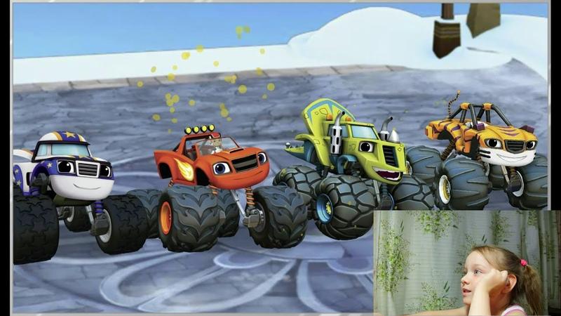 Участвуем вместе со Вспышем и Чудо машинками в гонке к вершине мира Игра