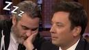 Joaquin Phoenix Doesn't Like Jimmy Fallon