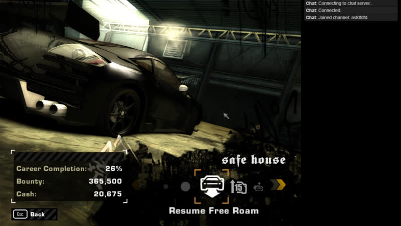 Need for Speed: Most Wanted (2005). Стрим 03. 2019-09-25 20-56-22