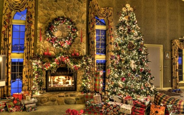 Красивые Обои На Рабочий Стол Рождество