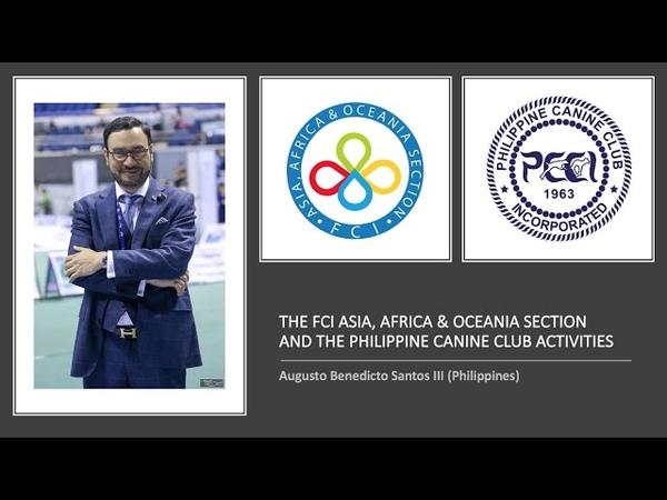 О работе Азиатско Африканско Тихоокеанской FCI и НКО Филиппин