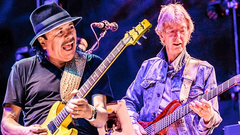 Phil Lesh Friends ft Carlos Santana and Warren Haynes Fire on The Mountain Live LOCKN' 2015