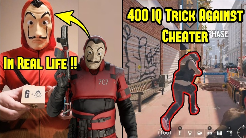 Ubisoft Actually Sent Me THIS 400 IQ Trick to Outsmart Cheaters Rainbow Six Siege