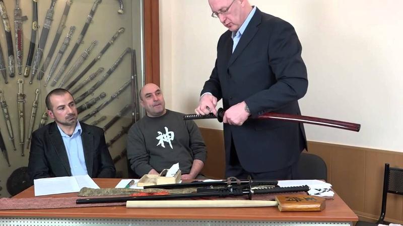 Круглый стол о японском холодном оружии