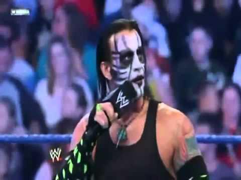 Cm Punk mock of Jeff Hardy