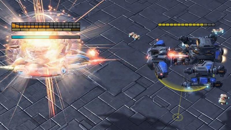 Battlecruisers VS Carriers Starcraft 2 TY vs ShowTime