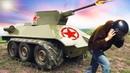 Ураганим на самодельном танке и наказываем вездеход