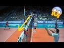 Amazing Volleyball Actions by Setter