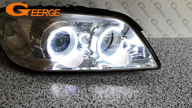 For Chevrolet Captiva S3X 2006 2007 2008 2009 2010 smd led Angel Eyes kit Excellent Ultra bright illumination DRL