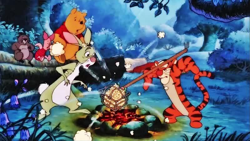 10 Лунный мёд Вороны воровки ♥ Приключения Винни Пуха 2 сезон Мультики для детей cartoons