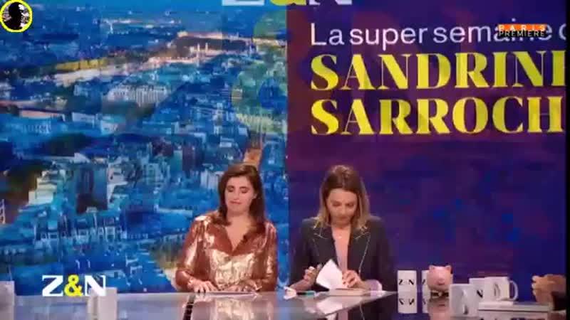 Sandrine Sarroche reprend le téléfon de Nino Ferrer, avec EmmanuelMacron dans le rôle de G.mp4