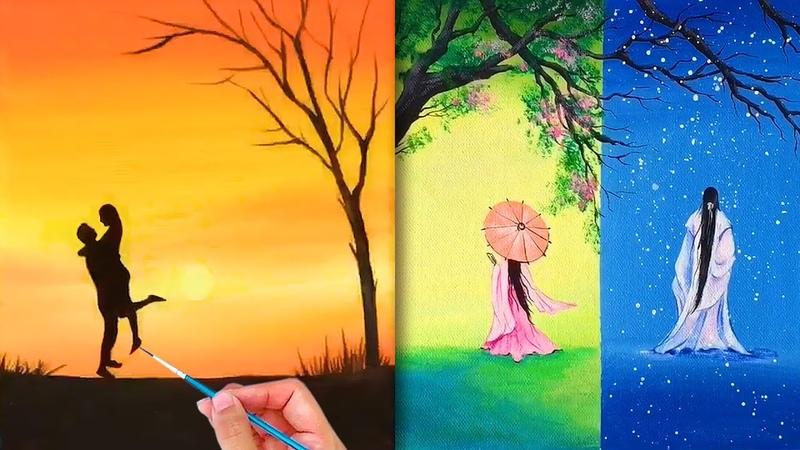 Tranh vẽ cổ trang siêu đẹp💘Amazing Art Drawing💘Nghệ thuật vẽ tranh đỉnh cao của họa sĩ Trung Quốc44