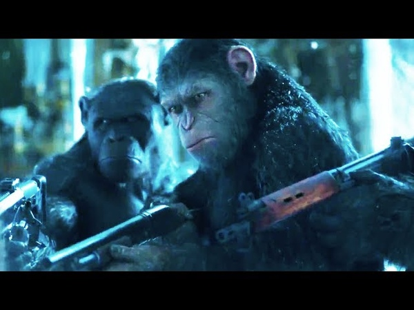 War for the Planet of the Apes Trailer 2017 Meeting Bad Ape Movie Clip Official
