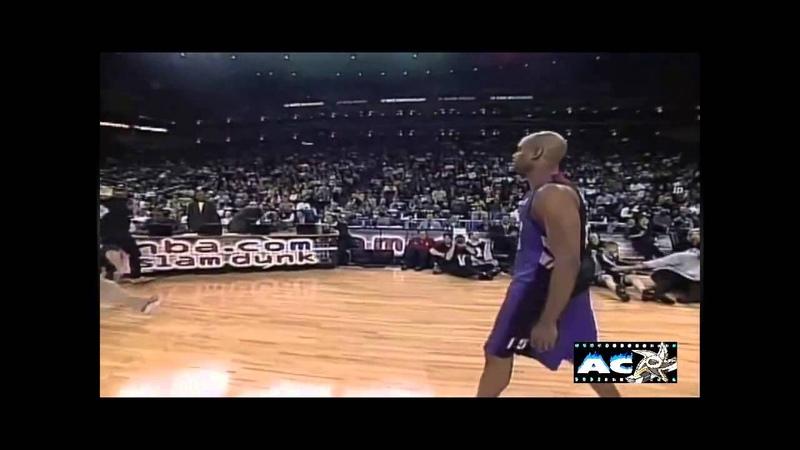 Vince Carter's Arm in rim dunk - 2000 Slam Dunk Contest