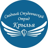 """Логотип Сводный Студенческий Отряд """"Крылья"""""""