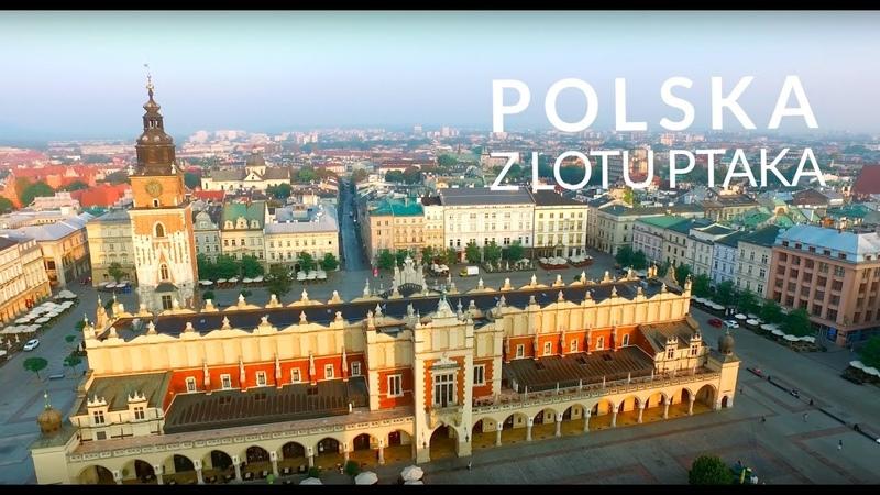 Polska z lotu ptaka Aerial footage of Poland