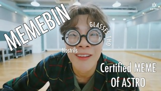 Astro Try Not To React/Fangirl (Moonbin Ver)