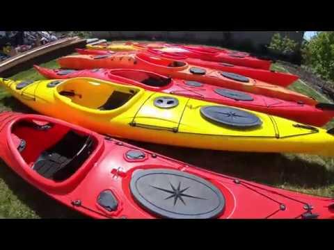 Общий обзор морских каяков Kayak64