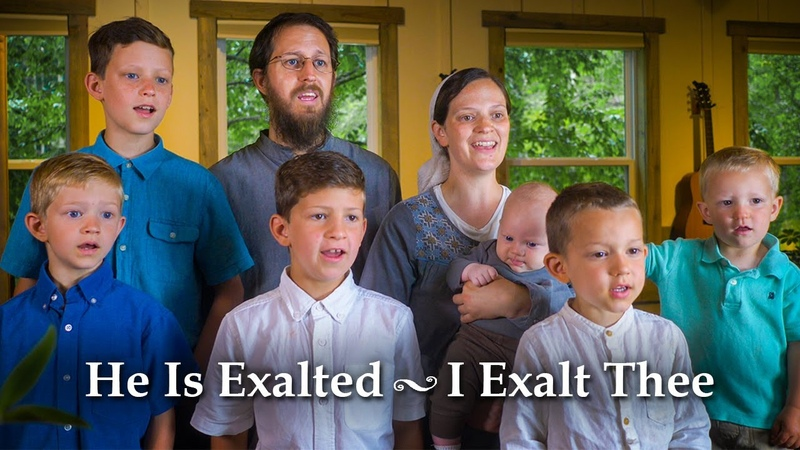 He Is Exalted I Exalt Thee Medley Sounds Like Reign
