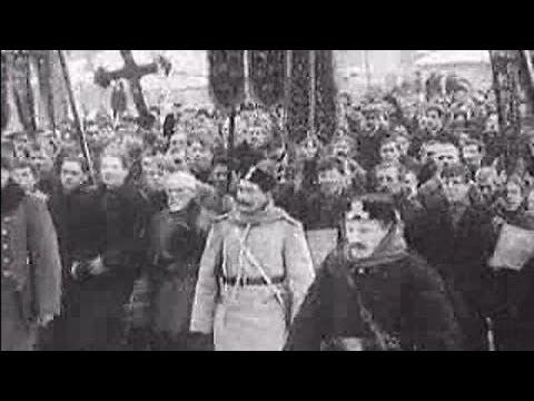 Расстрел шествия рабочих 1905 год