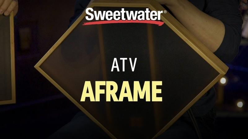 ATV aFrame Electrorganic Frame Drum Demo