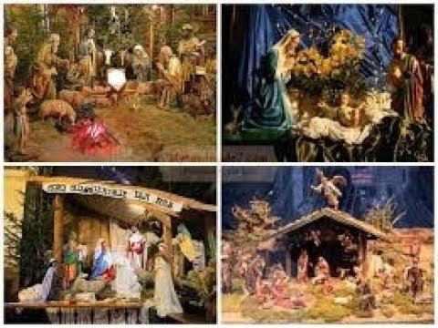 Рождественский Вертеп своими руками Christmas Den the hands