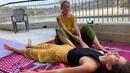 Обучение холистическому массажу в Ришикеше. День 3