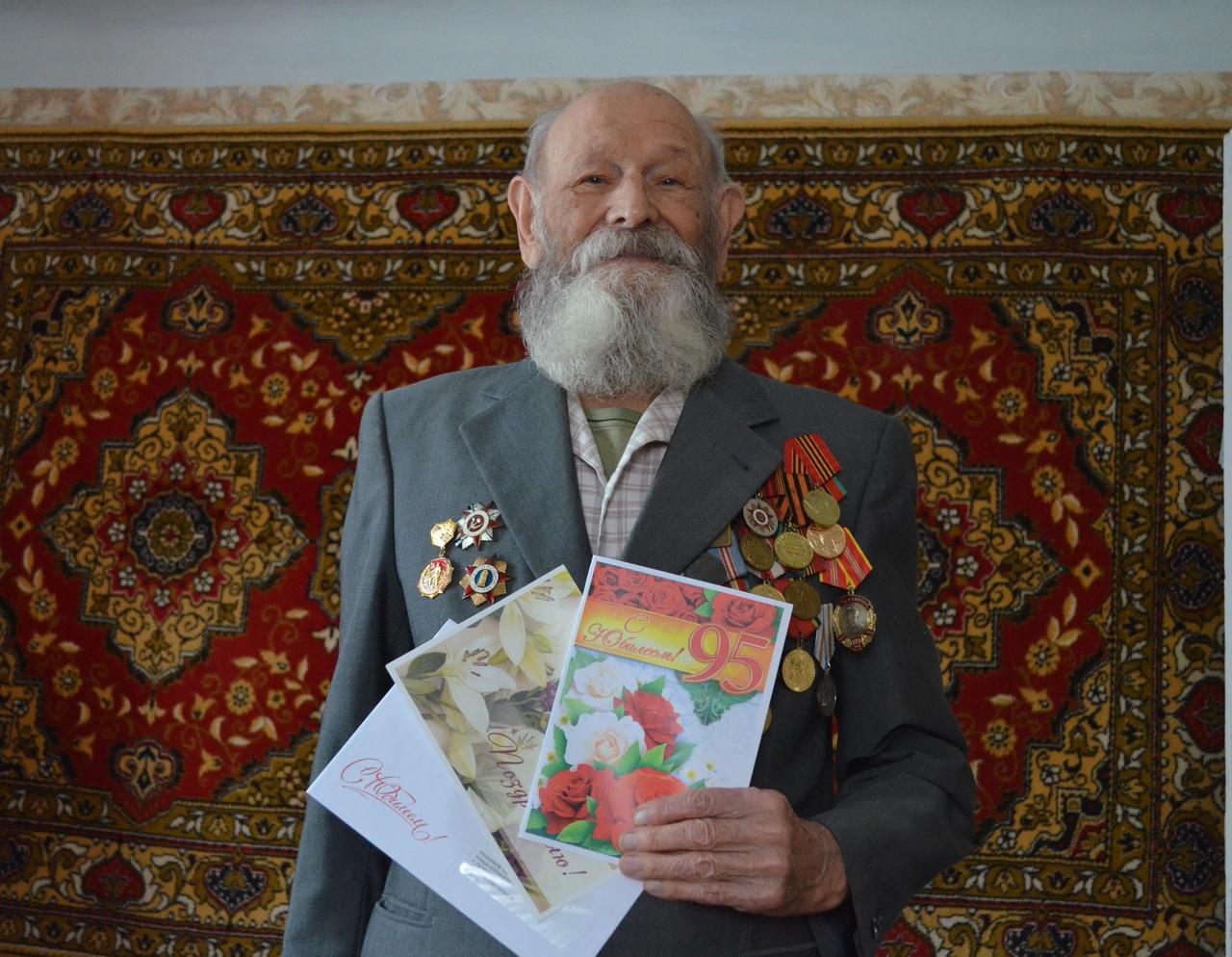 Сегодня 95-летний юбилей отмечает участник Великой Отечественной войны из Петровска Павел Андреевич ЛУШНИКОВ