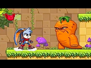 Kaze and the Wild Masks: Fight Mutant Vegetables in this Love-Letter to the 90s 2D Action Platformer