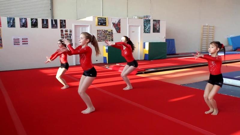 Junior Warm Up 2020 C'est la Vie Limerick Gymnastics Club Ireland