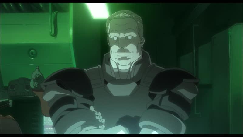 Ghost in the Shell Stand Alone Complex 2nd GIG Призрак в доспехах синдром одиночки 2 сезон 1 серия русские субтитры