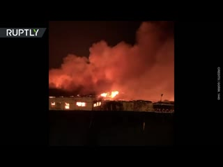 Siberian riots _ Russian prison set ablaze by