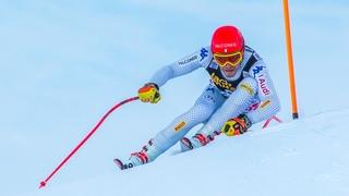 360° Video Südtirol Gran Risa slope - FIS Ski World Cup Giant Slalom Alta Badia