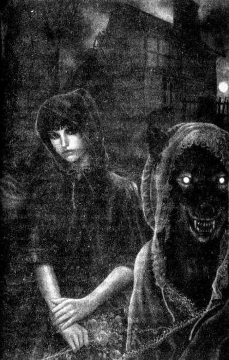 Призрак с собачьей головой и домовой. Пара историй
