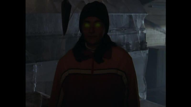 Первая встреча с фальшивой Джиной Отрывок из сериала Боишься ли ты темноты