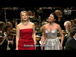Flower duet - Anna Netrebko & Elina Garanca (Lakm de Delibes)