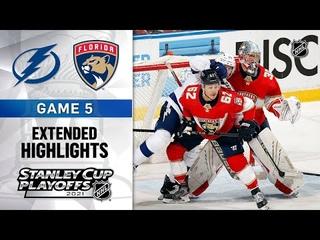 Tampa Bay Lightning vs Florida Panthers R1, Gm5 May 24, 2021 HIGHLIGHTS