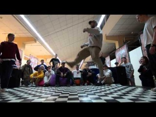 Hip Hop Pro TOP GROOVE 2  (SLASH vs Shtanko vs Bebe Spurs)