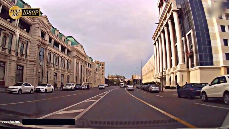 Bakı Yolları 05 05 2020 Bakü Caddeleri HD 1080p Road Drive Baku Relaxing Video