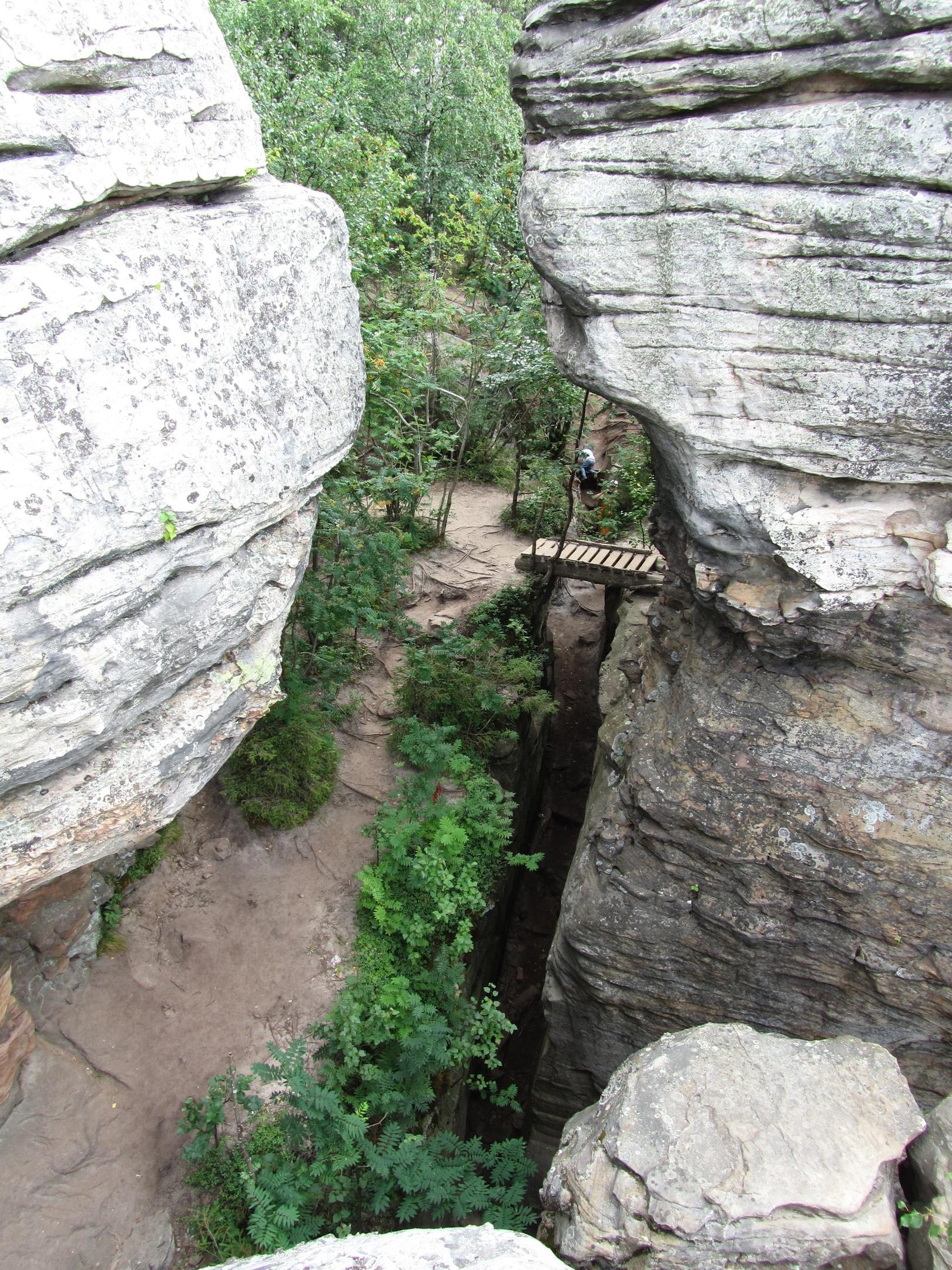 мостик в Каменном городе