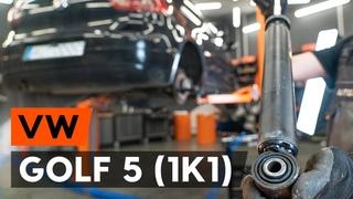 Как заменить амортизаторы задней подвески на VW GOLF 5 (1K1) [ВИДЕОУРОК AUTODOC]