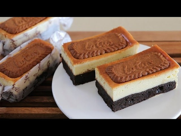 How to eat delicious Lotus brownies and cheesecakes all at once