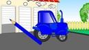 Мультик для малышей про трактора. Раскрашиваем трактора