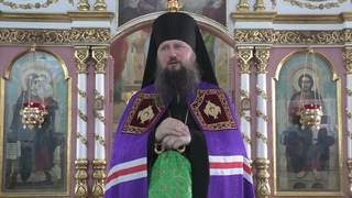 Проповедь епископа Павла в день обретения мощей прп. Сергия Радонежского