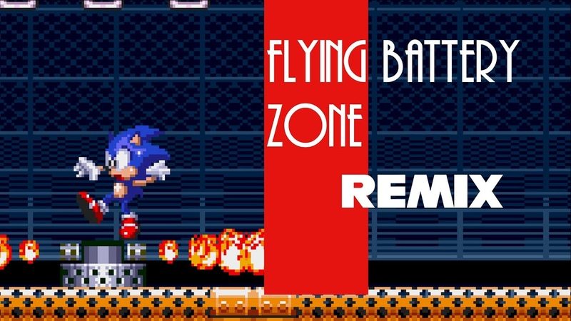 Sonic 3 Knuckles Flying battery zone Remix
