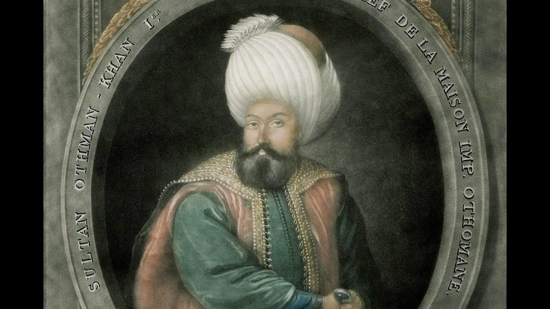 Portrait of Sultan Othman Khan I Osman Bey Gazinin Portresi