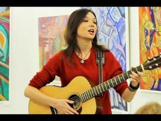Анна Ар - На расстроенной гитаре (Выставочный зал ЦБС Московского района, г. Санкт-Петербург)
