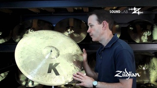 "Zildjian Sound Lab - 22"" K Custom Dark Complex Ride"