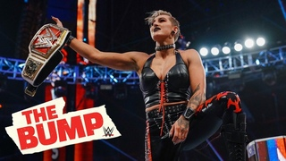 Rhea Ripley discusses her Raw Women's Title victory: WWE's The Bump, April 14, 2021