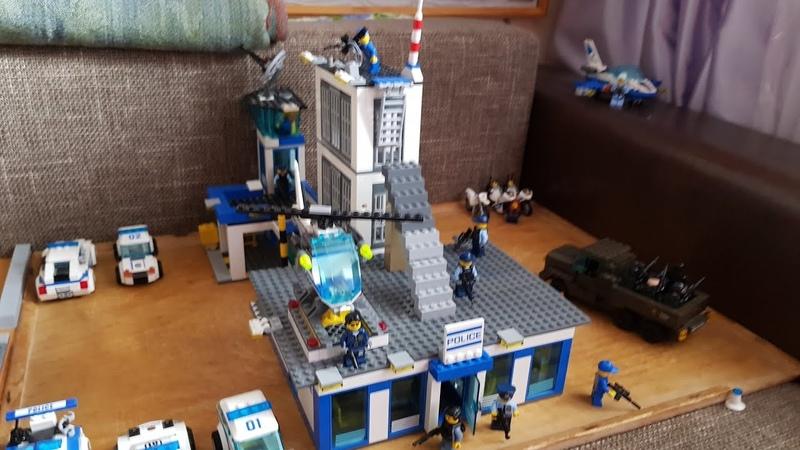 Мой самодельный Лего Полицейский участок Лего самоделки 1